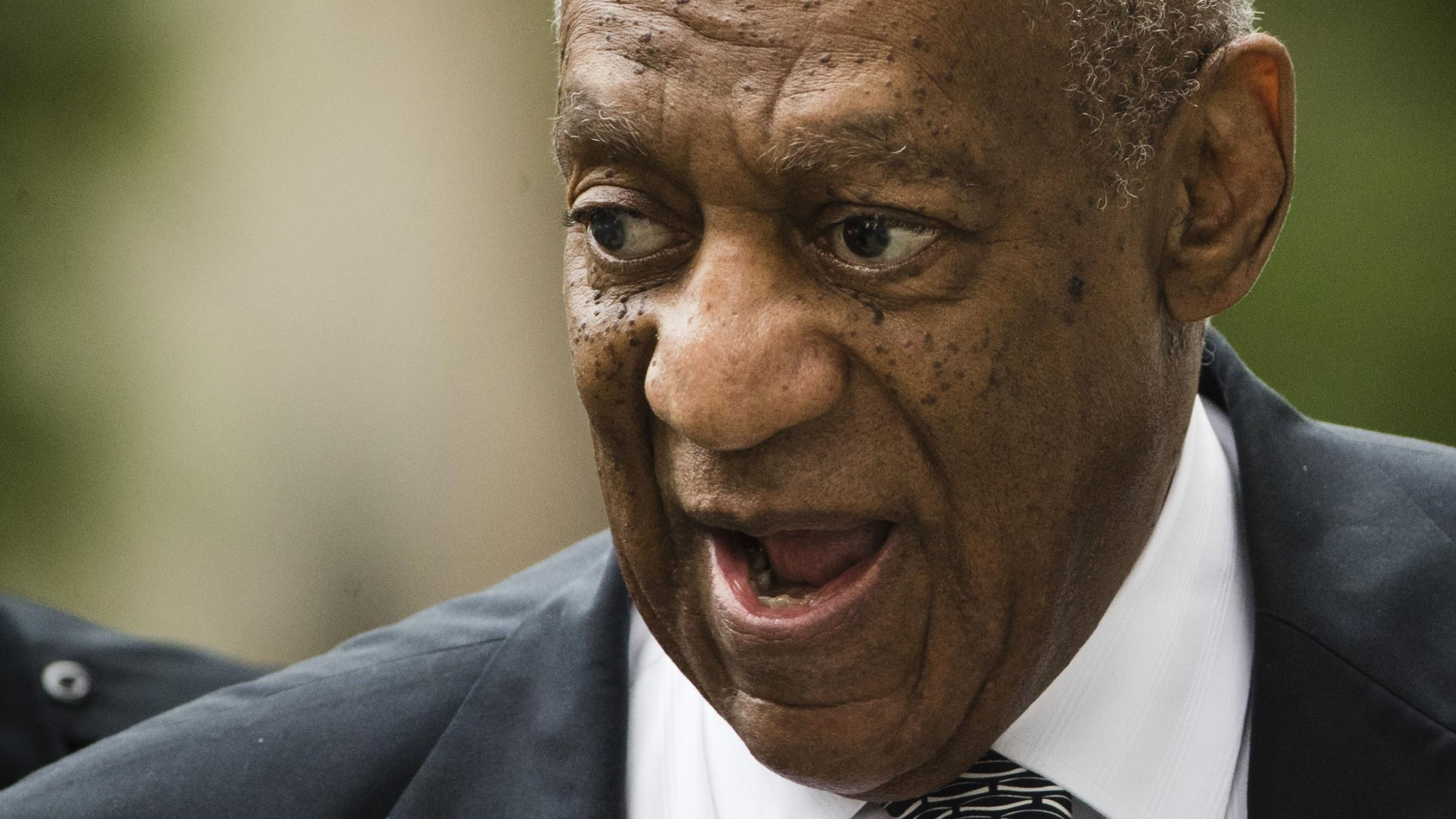 Bill Cosby supporters chant outside courthouse as deliberations drag on