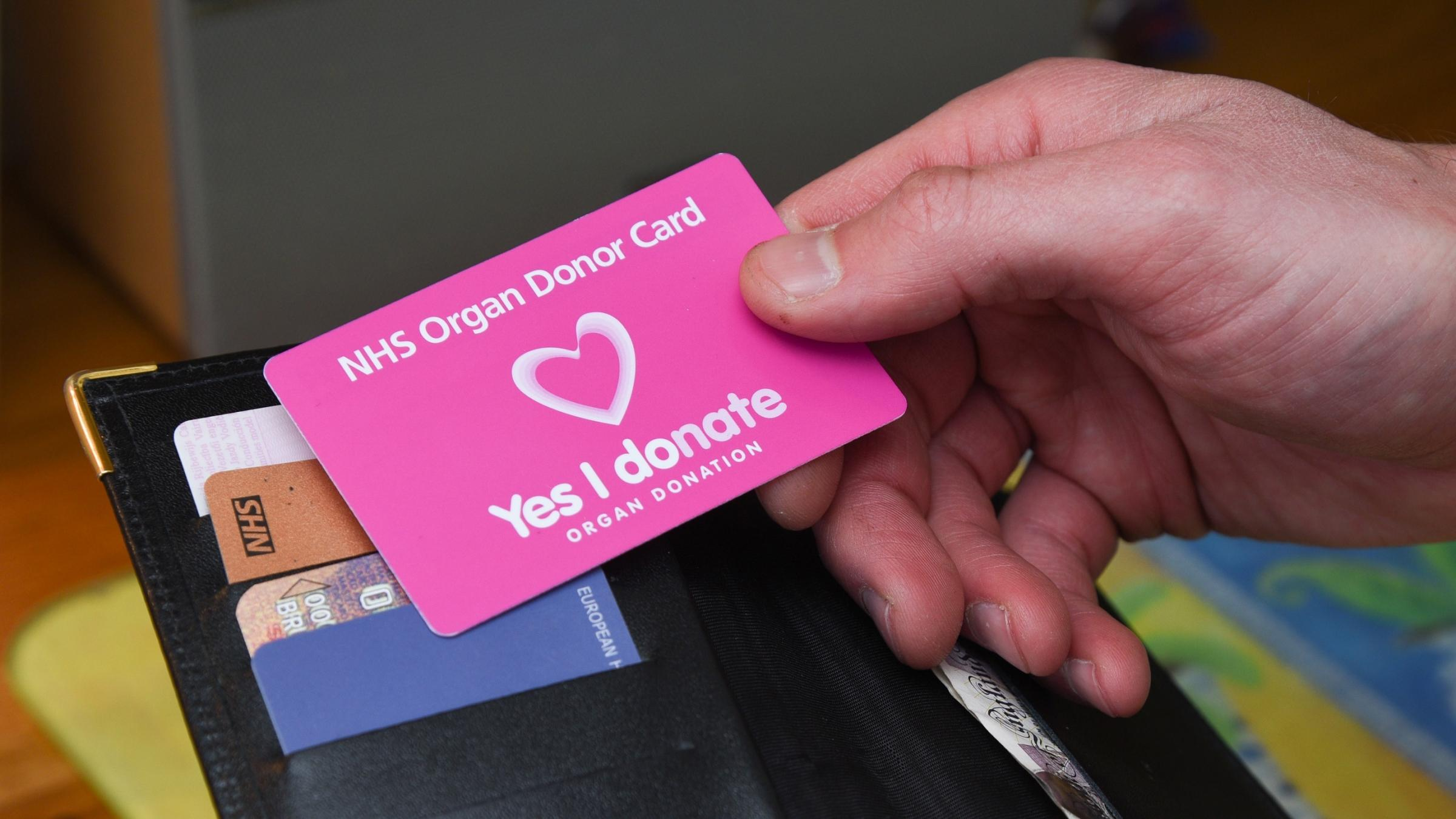 Only one in three people on organ donation register in Harborough area